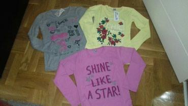 NOVO!!! Tri pamucne majice za 800 din.ili pojedinacno 300 din.Velicina - Smederevo