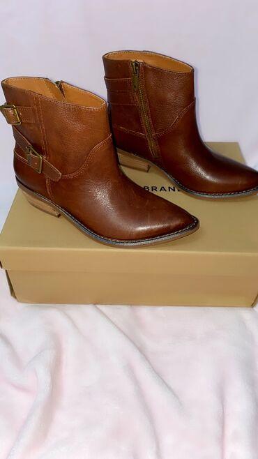 brand in trend в Кыргызстан: Ботинки кожаные Новые  100% оригинал с США Фирма Lucky Brand