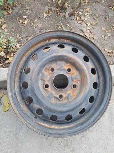 r14 диски в Кыргызстан: Продам диски R14, разболтовка 5/114.3Стояли на мазде, состояние