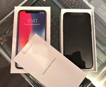 Bakı şəhərində Yeni Apple iPhone X 256GB Space Grey orijinal, möhürlənmiş qutuda