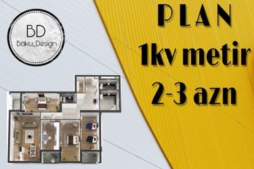 - Azərbaycan: Plan Lahiyəlrin 3d max görünüşlə hazırlanması 1kv m 2-3 azn dir