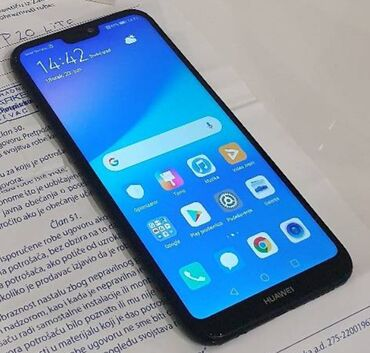Huawei g8 - Srbija: Huawei P20 Lite ispravan telefon bez ostecenja