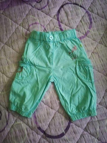 Pantalonice vel. 62,samo oprane i odlozene, nove - Leskovac
