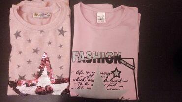 Majice za devojcice vel 152/164,komplet od 4 majice 1100 din ili
