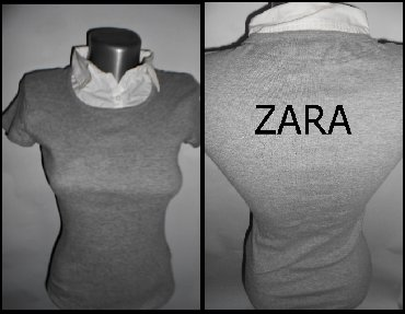 Sirine duzine m - Srbija: Majica Zara vel. M dimenzije su sledece . sirina ramena 38duzina
