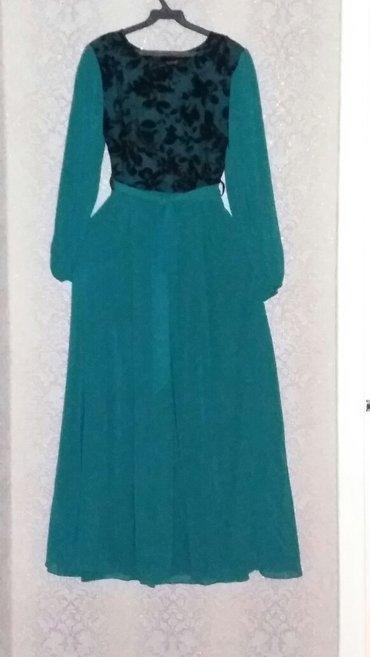 зеленые шузы в Кыргызстан: Платье р. 46. турция. цвет зелёный, на подкладе, в боковом шве -
