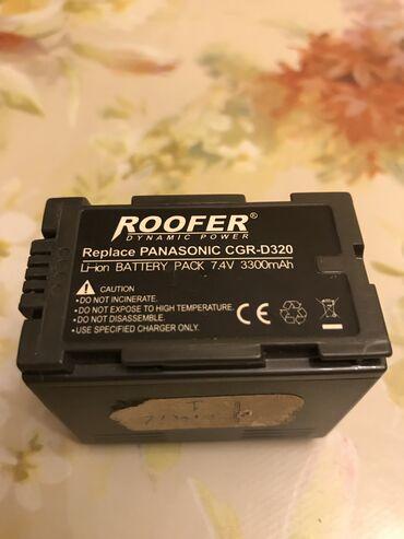 Panasonik kamerasinin batareyasi islek ela veziyetdedir