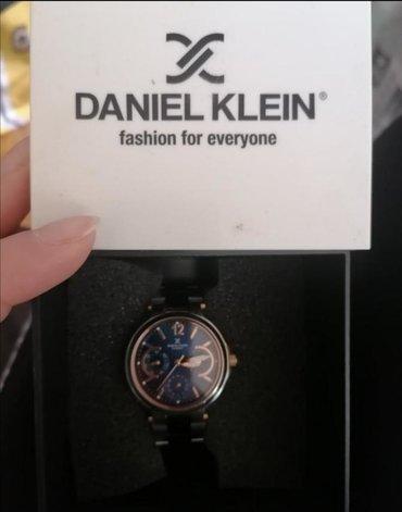 Plavi Ženski Ručni Satovi Daniel Klein