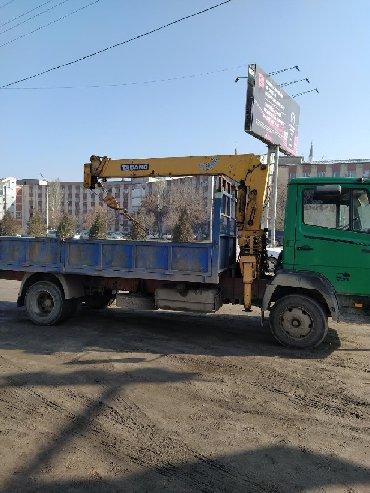 Эвакуатор кран манипулятор - Кыргызстан: Услуги кран манипулятора. Грузоподемность установки 3 тонны машины 6