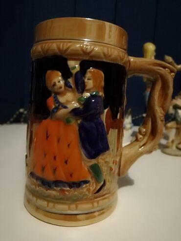 Figura - Srbija: PrelepaPorcelanska krigla Od preko Sve figurine su Iz Francuske i