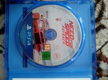 Диск на sony playstation 4 Need for speed payback . in Бишкек