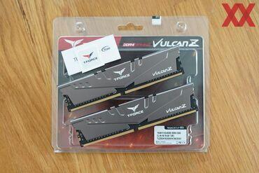Bagli qutuda tezedirTEAMGROUP T-Force Vulcan Z DDR4 16GB Kit (2 x 8GB)