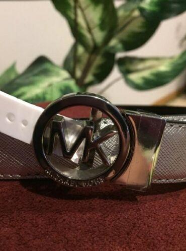 Другое - Азербайджан: Новый двусторонний кожаный ремень Michael Kors, size M. 110 AzN