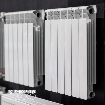 Seksia radiatorlar 7.5 azn; 8 azn; 9azn; 10azn; 11aznOJDEKO Istilik