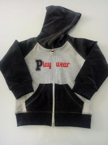 Ostala dečija odeća | Obrenovac: Duks sa kapuljačom za dečake,u dve nijanse sive boje,veličina 98.Nov