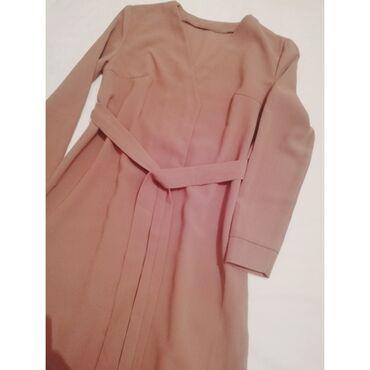 Жилет платье в наличии размер 40-42,цвет коричневый, длина ниже колен