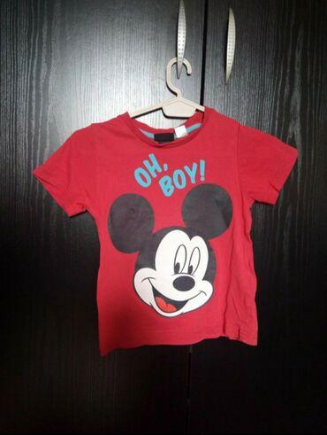 Dečiji Topići I Majice | Prokuplje: Disney Mickey mouse majica nova ne nošena  Velicina 86/92
