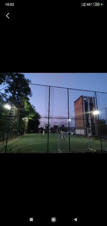 футбольные поля бишкек в Кыргызстан: Аренда футбольных полей. Адрес Осмонкула 128, район Бишкек Сити