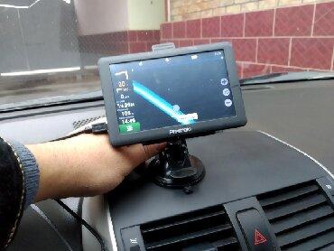 карты памяти для навигатора в Кыргызстан: GPS-Навигатор Prestigio полный комплект почти новый