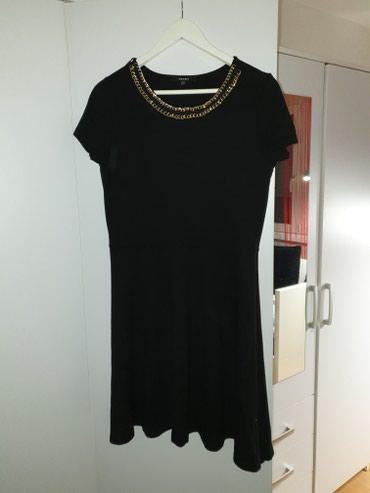 Crna Coton haljina. jednom obucena. xxl velicina.  - Sremska Mitrovica