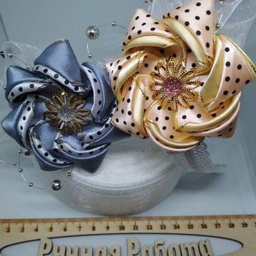 Ручная работа ободки повязки броши заколки банты галстуки бабочки в Бишкек