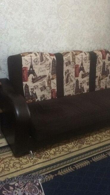 dva divan kresla в Кыргызстан: Продается диван раскладной