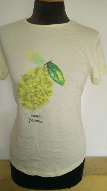 Pamucna svetlo zuta letnja majica. Pamuk 100 %. Jako - Novi Banovci