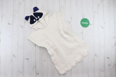 Детская одежда и обувь - Киев: Дитячий халат-рушник MaminPups   Довжина: 55 см Ширина плеча: 42 см  С