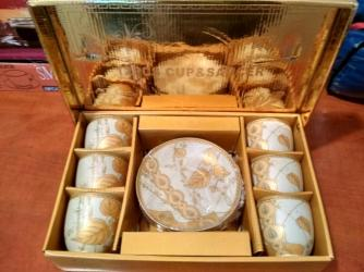 fuzhery-6-sht в Кыргызстан: Продаю новый сервиз на 6 персон, в коробке 6 чашек и 6 тарелочек