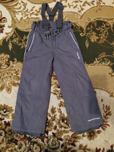 чемодан на колесах в Кыргызстан: Продаю теплые штаны на ремешке,,на мальчика 5-6 летрост 104-110 в