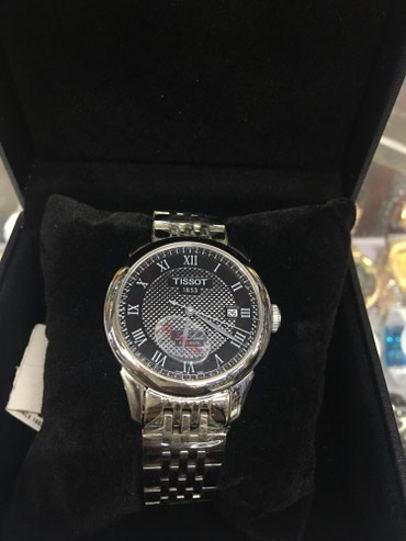 Мужские Серые Классические Наручные часы Tissot в Бишкек
