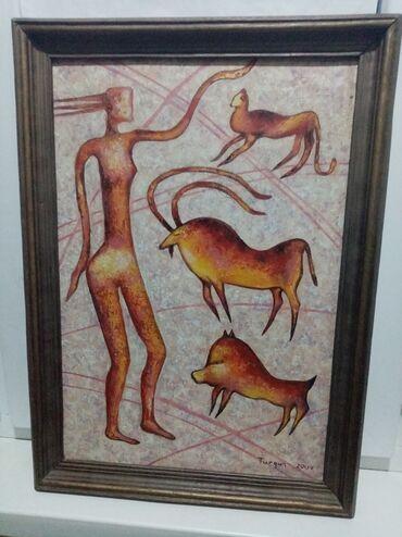 Картина ручной работы Мать природы