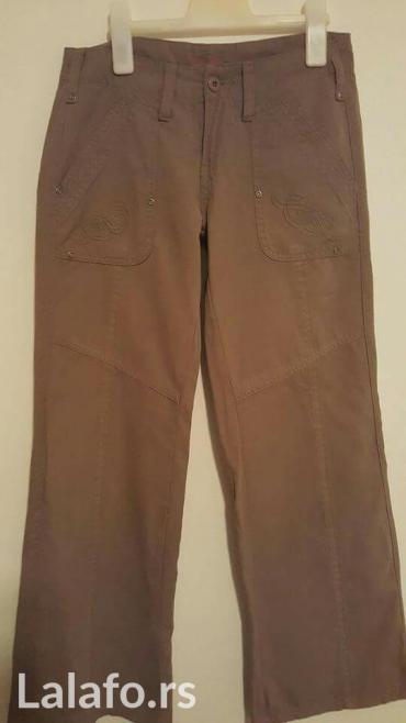 Pantalone zelene broj - Srbija: Maslinasto zelene pantalone broj 34