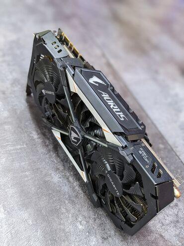Электроника - Орто-Сай: GTX1080/8 gigabyte aorus 3x-куллерная !! Идеал !