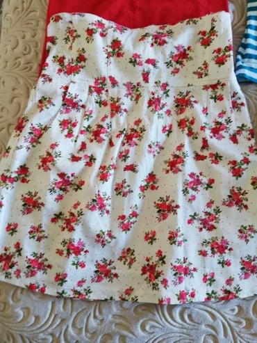 Komplet suknica duboki struk i majica.. Moze i posebno.. Suknja 600, - Sjenica