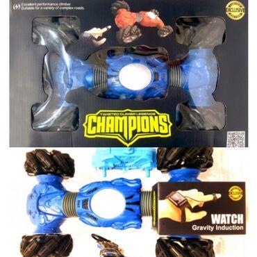 """Радиуправляемая машинка-перевертыш """"Champions"""" (Hyper). Управление"""
