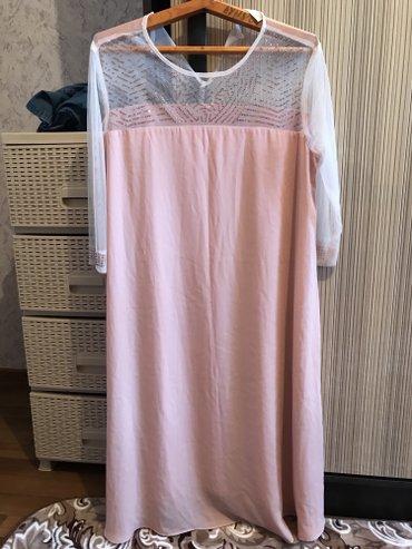 Летнее легкое платье !!!!новое почти !!!!размер 46-48 в Бишкек