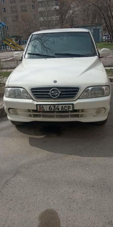 Ssangyong в Бишкек: Ssangyong Musso 2000