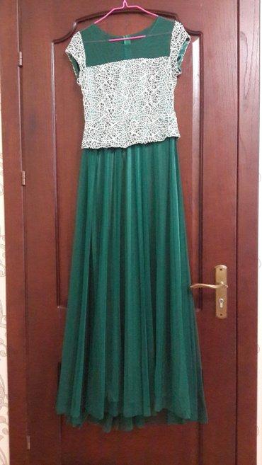 Платья : 1) цвета изумруд (зеленый ) из в Бишкек