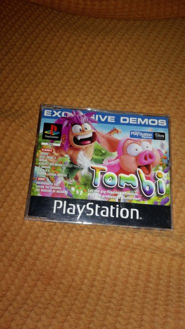 PSX Demo 37 PAL Version. Includes the games Circuit Breakers (add-on