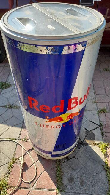 Xidmətlər - Ağdaş: Islek veziyyetde Red Bull soyuducusu. Gorunusu normaldir. Sekillerdeki
