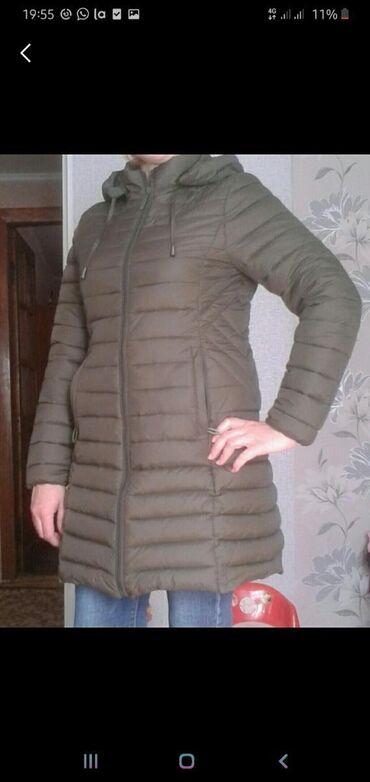 Куртка женская,цвет хаки, 46 -48 размер, состояние идеальное!