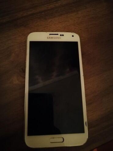 Samsung s 5 - Azərbaycan: Ehtiyat hissələri kimi Samsung Galaxy S5 16 GB ağ