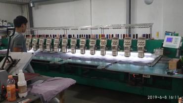 шредеры 16 в Кыргызстан: Продаю станок для вышивка, вышивальная машинка б. У. 16 головок, 6