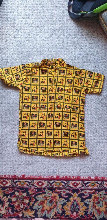 Футболка-рубашка на 6-7 лет.пр-во:Индия