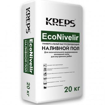 Наливной пол ЭКО НИВЕЛИР KREPS 20кг в Бишкек