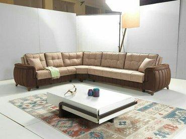 Bakı şəhərində Kunc divan, fabrik istehsali, olcu 335x205,Acilib yigilan