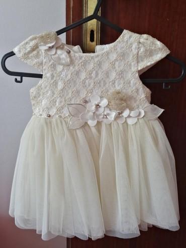 Decije haljine - Pirot: Haljina za devojcice vel 1 nosena samo jednom