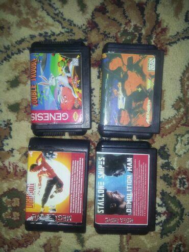 Sega kasetleri biri 50 manat