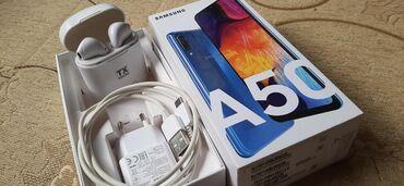 | Priboj: Samsung A 50, blue  128 gb Duos